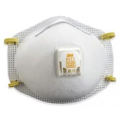 Dust Respirator w/Valve 3M 8511