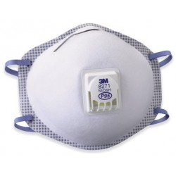 Oil-Proof Respirator w/Valve 3M 8271