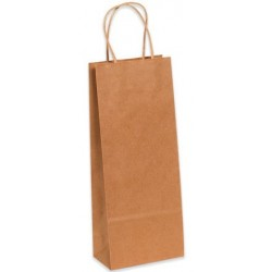 Shopping Bags w/Handles - Size Wine