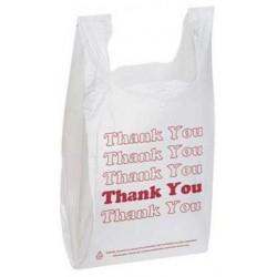 Plastic T-shirt Bags - Thankyou