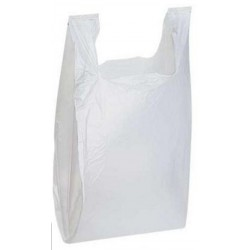 Plastic T-shirt Bags - Medium
