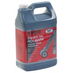 Rolmark Black Stencil Ink - Gallon