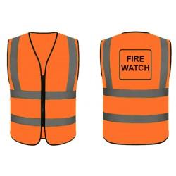 Fire Watch Safety Vest